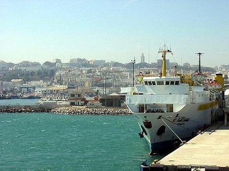В порту города Танжер