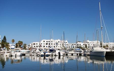 В тунисском порту