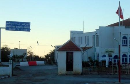 КПП на границе Туниса с Алжиром