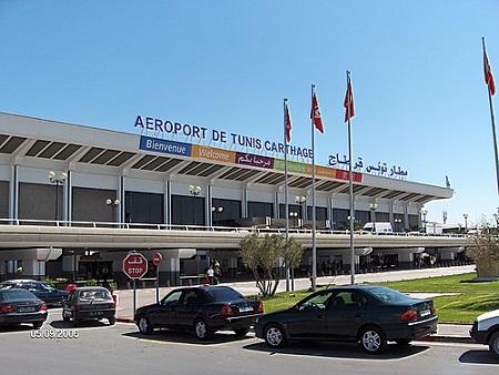 Международный аэропорт города Туниса
