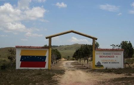 На бразильско-венесуэльской границе