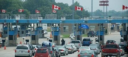 На границе США и Канады