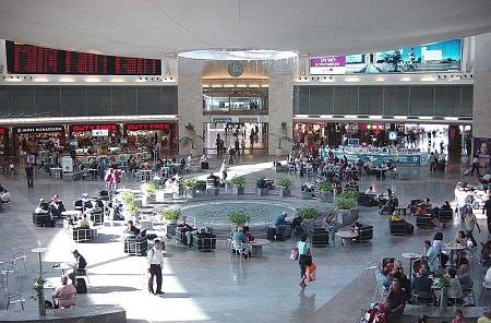 В аэропорту Бен-Гурион
