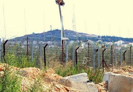 На израильско-ливанской границе
