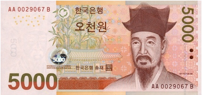 Валюта южной кореи курс