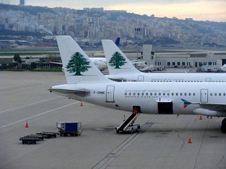 В аэропорту Бейрута