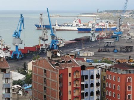 В порту турецкого города Трабзона