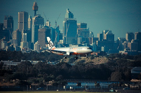 В международном аэропорту Сиднея