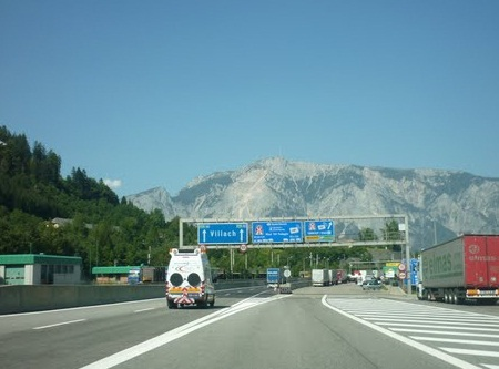 На границе Австрии и Италии