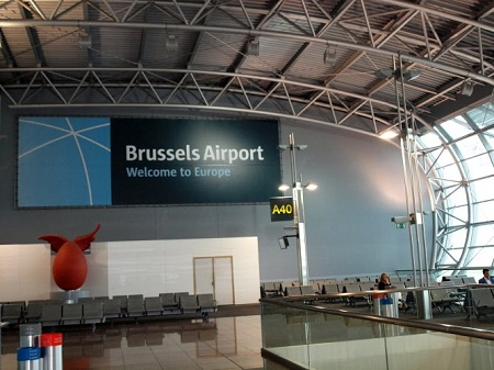 В брюссельском аэропорту