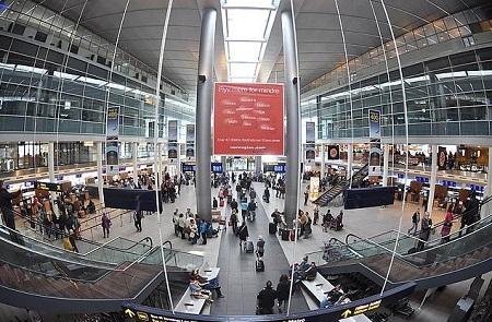 В международном аэропорту Копенгагена