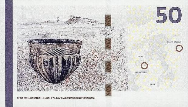 Дания 1 крона 1946 г