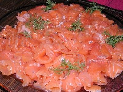 Graavilohi - финская закуска из лосося.