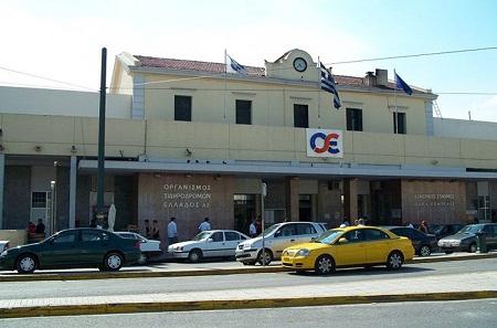 Железнодорожный вокзал в Афинах