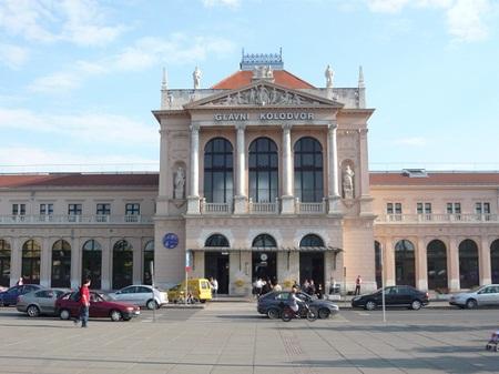 Железнодорожный вокзал в Загребе