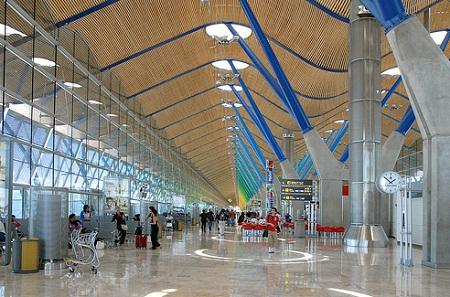 В мадридском аэропорту