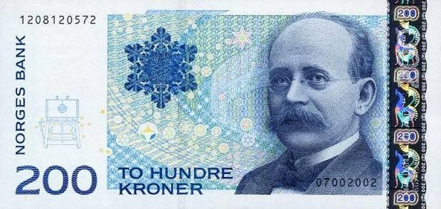 Валюта Норвегии. Курс норвежской кроны. Внешний вид банкнот