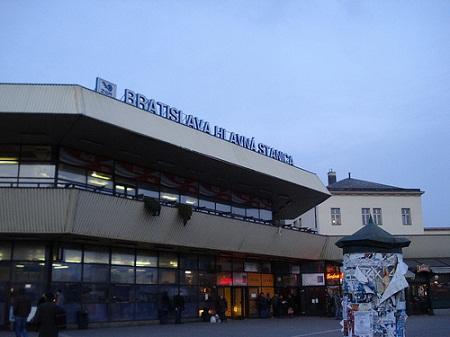 Железнодорожный вокзал в Братиславе