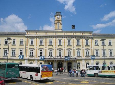 Железнодорожный вокзал в Любляне