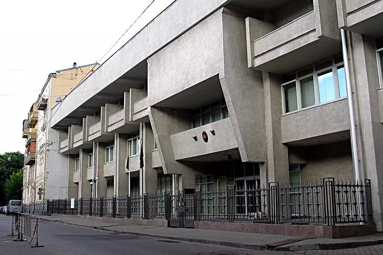 Посольство Литвы в Москве (Борисоглебский пер., д.10)
